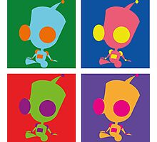 Andy Warhol style - Gir Photographic Print