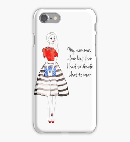 Fashion Quote iPhone Case/Skin