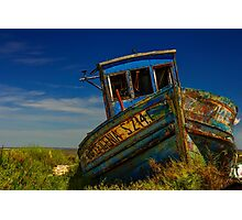 Carrasqueira Boat Portugal Photographic Print