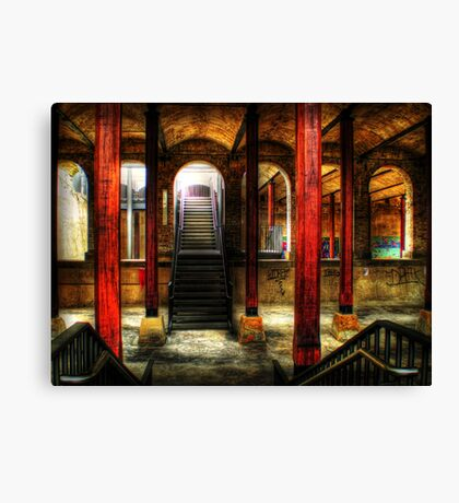 Paddington Reservoir Undergound Canvas Print
