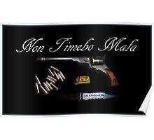 Non Timebo Mala - I Will Fear No Evil! New Supernatural design! Poster