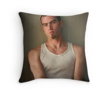 Travis #312 Throw Pillow