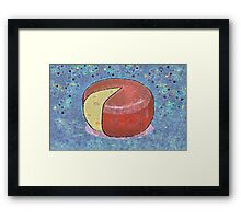 THE CHEESE THAT LAY IN THE HOUSE Framed Print