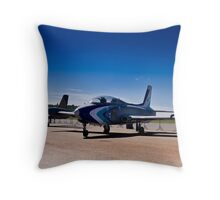 Aermacchi MB326K Impala Mk I & II Throw Pillow