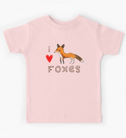Fox Love Kids Tee