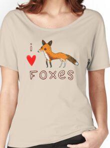 Fox Love Women's Relaxed Fit T-Shirt