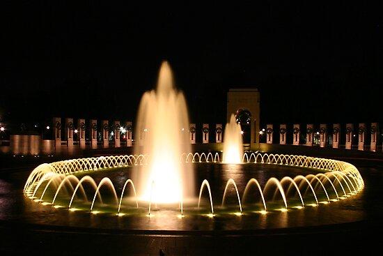 WWII Memorial in Washington DC by John Banks