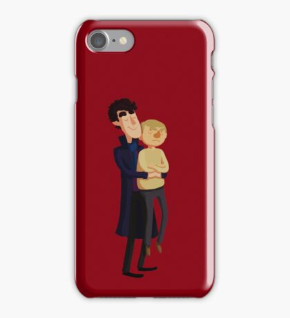 Put me down, Sherlock iPhone Case/Skin