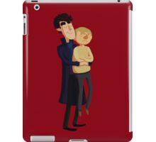 Put me down, Sherlock iPad Case/Skin