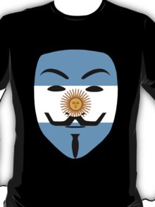 Anonymous Argentina T Shirts, Stickers and Other Gifts T-Shirt
