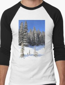 Snow Trees Men's Baseball ¾ T-Shirt