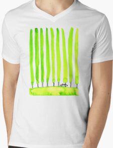 Enthusiastic cypress Mens V-Neck T-Shirt