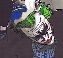 The Joker, The Dark Knight #4 by Spencer Holdsworth Art