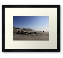 The Wreck of SS Lawrence Framed Print