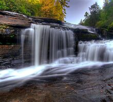 Tripple Falls, Dupont State Forest by Spencer Black