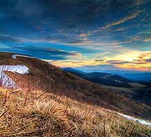 Sunrise at Max Patch, NC by Spencer Black