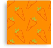 Carrots kid's style Canvas Print