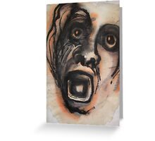 Face - Bernard Lacoque Greeting Card