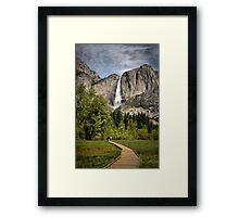 Through Yosemite Meadows Framed Print