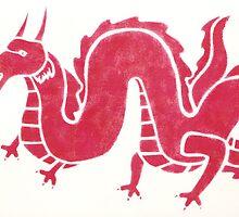 Oriental Dragon by LAZILEES