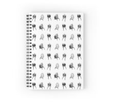 Portal - Turret Factory Notebook Spiral Notebook