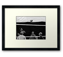 Volley ball Framed Print