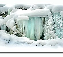 Icicle Chandelier by Linda Davidson