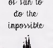 Walt Disney Quote by Elizabeth Grbic