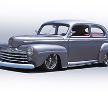 1947 Ford 'Rod and Custom' Sedan 1 by DaveKoontz