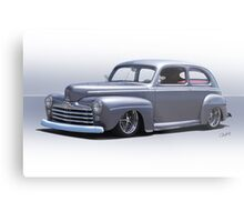 1947 Ford 'Rod and Custom' Sedan 1 Metal Print