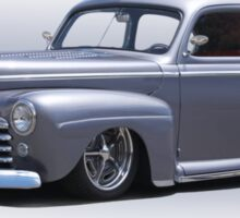 1947 Ford 'Rod and Custom' Sedan 1 Sticker
