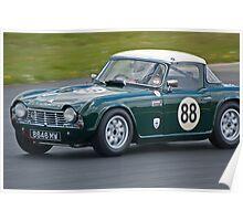 1962 Triumph TR4 Poster