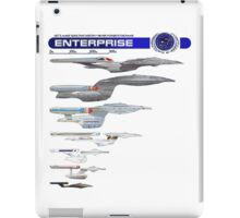 U.S.S. Enterprise Lineage iPad Case/Skin