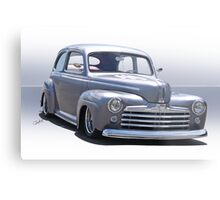 1947 Ford 'Rod and Custom' Sedan 2 Metal Print