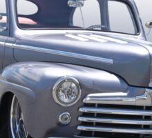 1947 Ford 'Rod and Custom' Sedan 2 Sticker