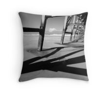 Steetley Pier Throw Pillow