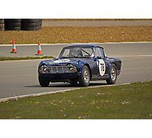 1963 Triumph TR4 Photographic Print