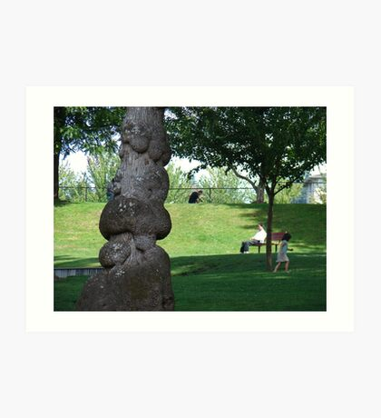 Peace in the Park Art Print