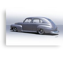 1947 Ford 'Rod and Custom' Sedan 3 Metal Print