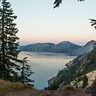 Summer Eve on Crater Lake #2 by Ken McElroy