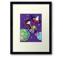 The Doctors at Play Framed Print