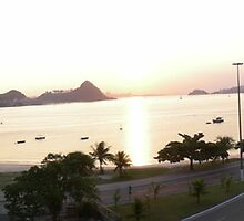 Charitas Beach in Niteroi, Brazil by Andrew Smith