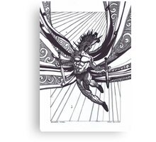 St Michael, Warrior Angel Canvas Print