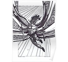 St Michael, Warrior Angel Poster