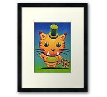 Kit Tee Kat Framed Print