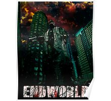 Endworld movie style Poster Poster