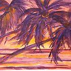 Pacific Sunset by Betty Burnitt