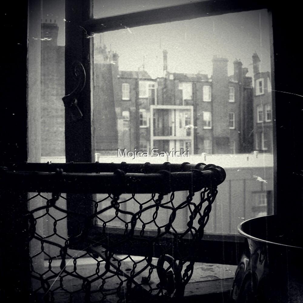 Bathroom Window by Mojca Savicki