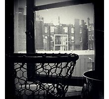 Bathroom Window Photographic Print
