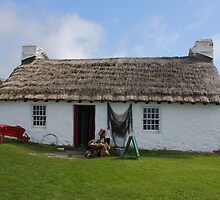 Harry Kelly's Cottage, Cregneash, Isle Of Man by Nick Barker